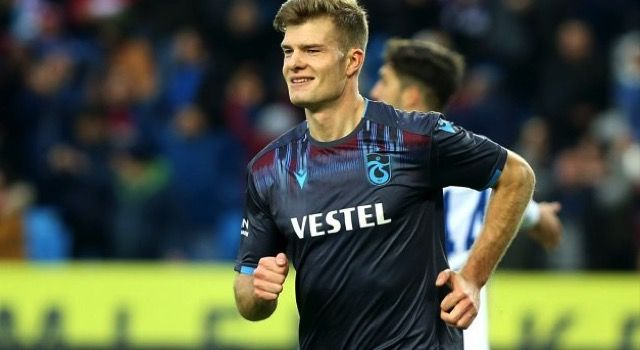 Alexander Sörloth, Trabzonspor'da kalacak: Aklımda sadece bu var