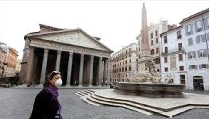 İtalya'da Kovid-19 salgınında yeni vaka sayısı 1400'lerde seyrediyor