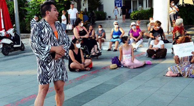 Kadınların İstanbul Sözleşmesi eylemine katılmak isteyen Murat Övünç kovuldu!