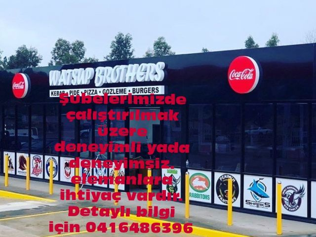 Watsup Brothers Şubelerine Elemanlar Aranıyor