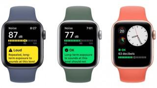 Apple Watch Gürültü uygulaması nasıl kullanılır