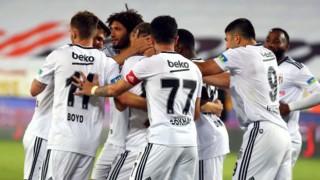 Beşiktaş, deplasmanda Yeni Malatyaspor'u 1-0 mağlup etti