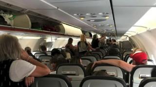 Koronavirüslü Jetstar yolcusu Melbourne'dan Sydney'e uçtu