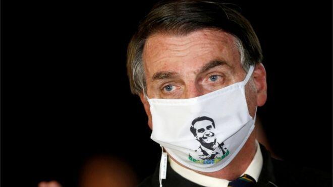 Brezilya Devlet Başkanı Bolsonaro'nun koronavirüs testi pozitif çıktı