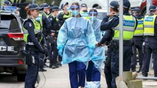 Victoria'da Covid19 vakalarında rekor yükseliş devam ediyor