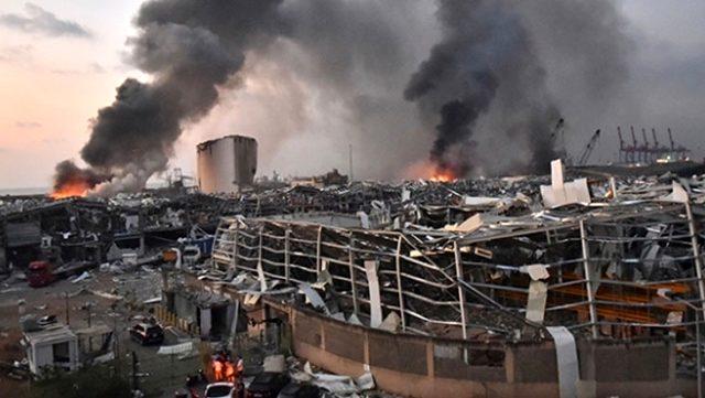Beyrut Limanı'ndaki patlamaya ilişkin gözaltına alınanların sayısı 19'a yükseldi
