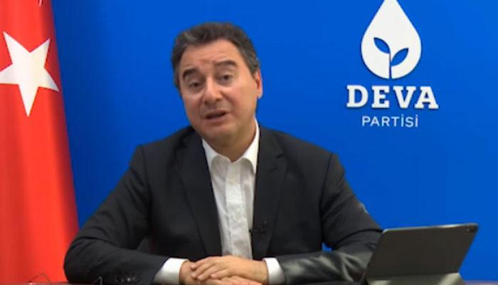 DEVA Partisi Genel Başkanı Ali Babacan, koronavirüse yakalandı