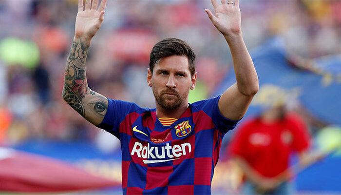 Messi, Barcelona'dan ayrılıyor!