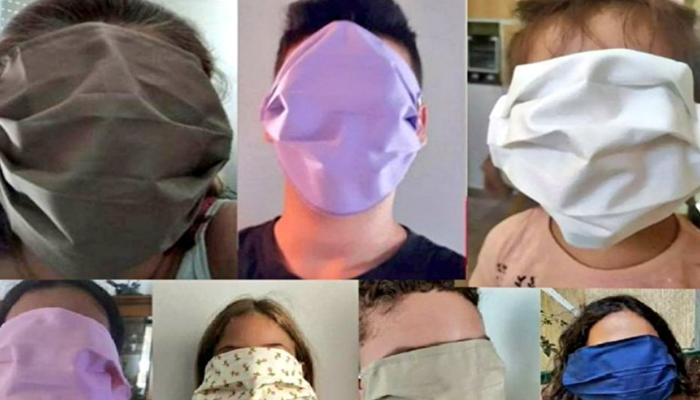 Yunanistan'da maske skandalı: Yüzün tamamını kaplıyor!