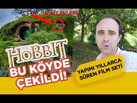 Yeni Zelanda'daki Hobbit Köyüne Gittim : Yüzüklerin Efendisi ve Hobbit Filmi Burada Çekildi